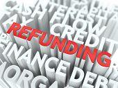 Refunding. The Wordcloud Concept.