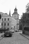 Sandomierz Street Leading To The Cathedral