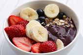 picture of brazilian food  - acai bowl - JPG