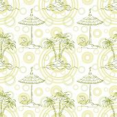 stock photo of canopy roof  - Seamless pattern - JPG