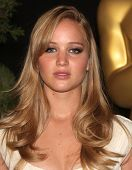 LOS ANGELES - FEB 7:  JENNIFER LAWRENCE arrives to the 83rd Academy Awards Nominees Luncheon  on Feb