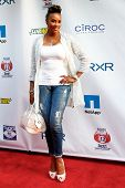 NEW YORK-MAY 30: Actress Vivica A. Fox attends the 5th annual Tuck's Celebrity Billiards Tournament