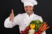 Fresh vegetables are very healthy for you!