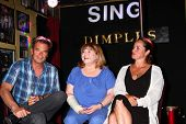LOS ANGELES - JUN 1:  Wally Kurth, Patrika Darbo, Crystal Chappell at the Judi Evans Celebrates 30 y