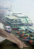 Boats On The Yangtze River