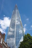 LONDON, ENGLAND - MAY 25: view Shard building from St. Thomas Street on May 25, 2013 in London. The