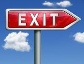 exit the way out to the finish exit door emergency door escape route leaving emergency exit guide po