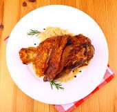 Grilled Pork With Whitish