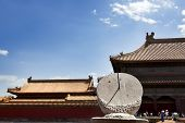 Sundial In The Forbidden City