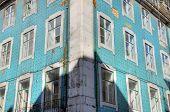 House in Baixa district, Lisbon, Portugal