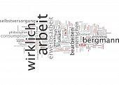 Word cloud -  new work