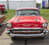 1957 Red Chevy Nomad