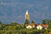 Dalmatian Village Of Zaton And Velebit