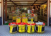 Souvenir Shop in Nara