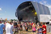 Main music stage at Hop Farm Festival, Kent, UK 4/7/09