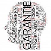 Info-Text-Grafik - Garantie