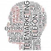 Info-text graphic - telemarketing