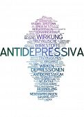 Word cloud - antidepressants