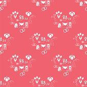pattern Valentine's Day