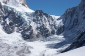 Mountain Pass From Nepal To Tibet, Himalaya