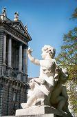 Wahrzeichen von Wien. Neuen Burg in Wien, Österreich