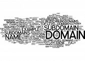 Word cloud - domain