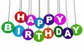 Happy Birthday Party Concept