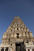 Virupaksha - Vijayanagar Temple - one of the highlight of the Hampi temple complex in India, with mo