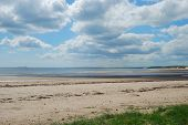 Estuaryand Coastal View At Alnmouth
