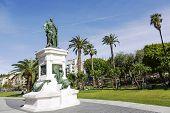 Statue To Marshal Andre Massena, Nice