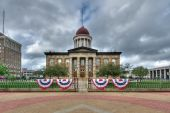 Old Illinois State Capitol building