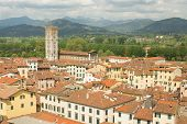 view of Lucca,