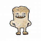 image of bad teeth  - cartoon bad tooth - JPG