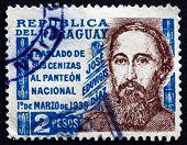 Postage Stamp Paraguay 1939 Jose Eduvigis Diaz, General