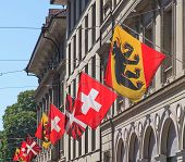 Flags In Bern