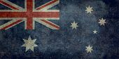 National Flag of Australia vintage
