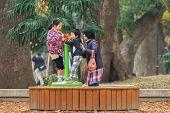 Family at Ueno Park