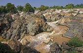 Waterfalls On The Mekong River