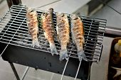 Sea Bass Barbeque