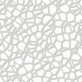 Vector Abstract Gray And White Pebble Mosaic Pattern