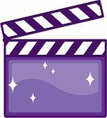 Clapper movie vector