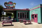 Famous Mr. D'z Route 66 Diner in Kingman Arizona