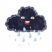 cartoon raincloud