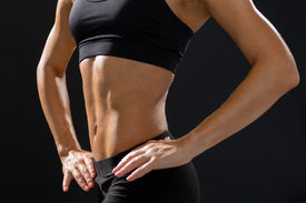 foto of sportswear  - fitness and diet concept  - JPG