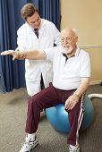 Doctor Gives Physical Therapy