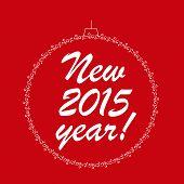 Happy New Year.  Vector Illustration