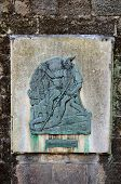 Robin Hood plaque, Nottingham.
