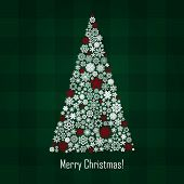 vector new year and christmas greeting card