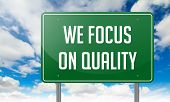 We Focus on Quality in Highway Signpost.