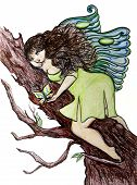 Curvy Butterfly Fairy